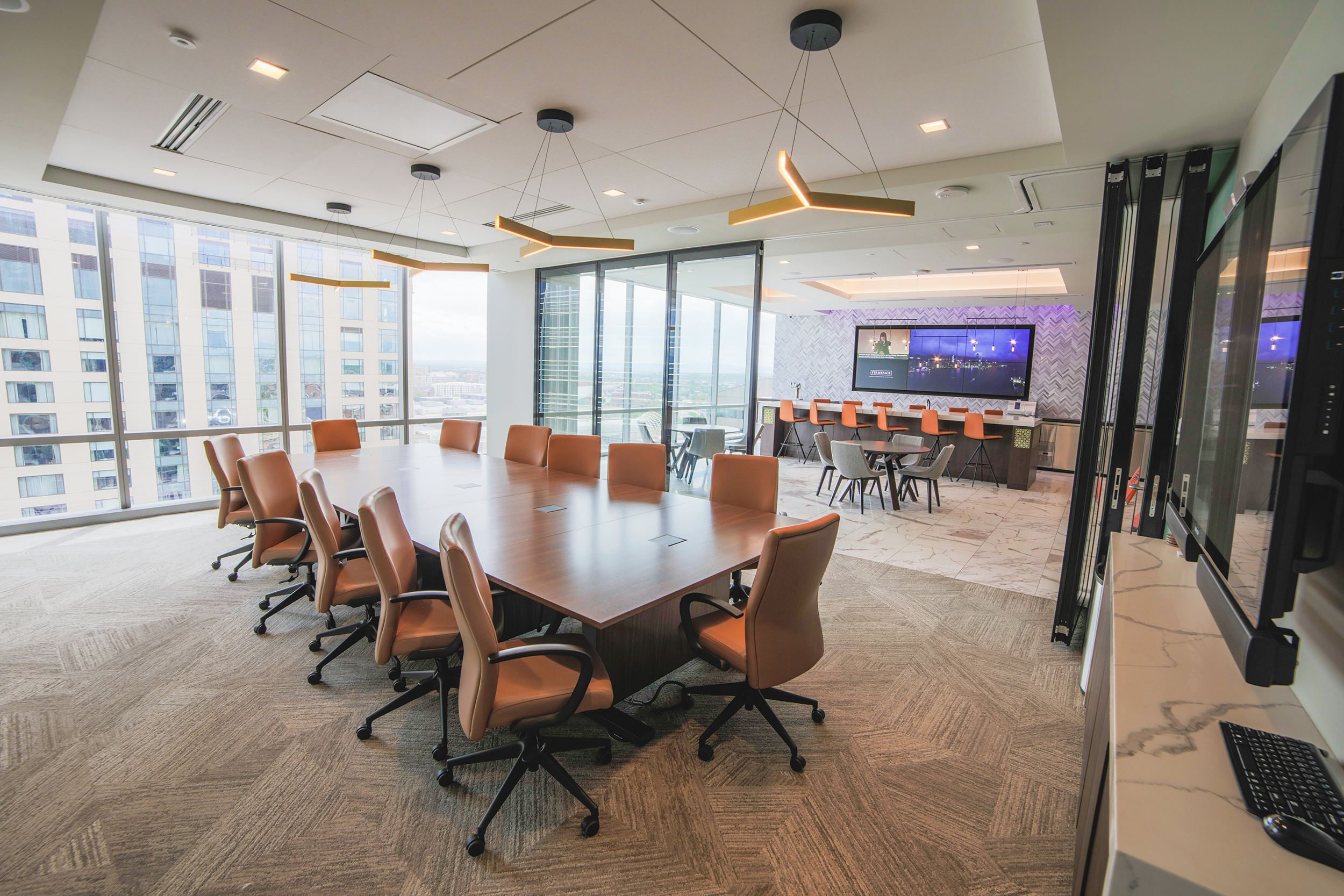 Firmspace conference room for rent in downtown Denver